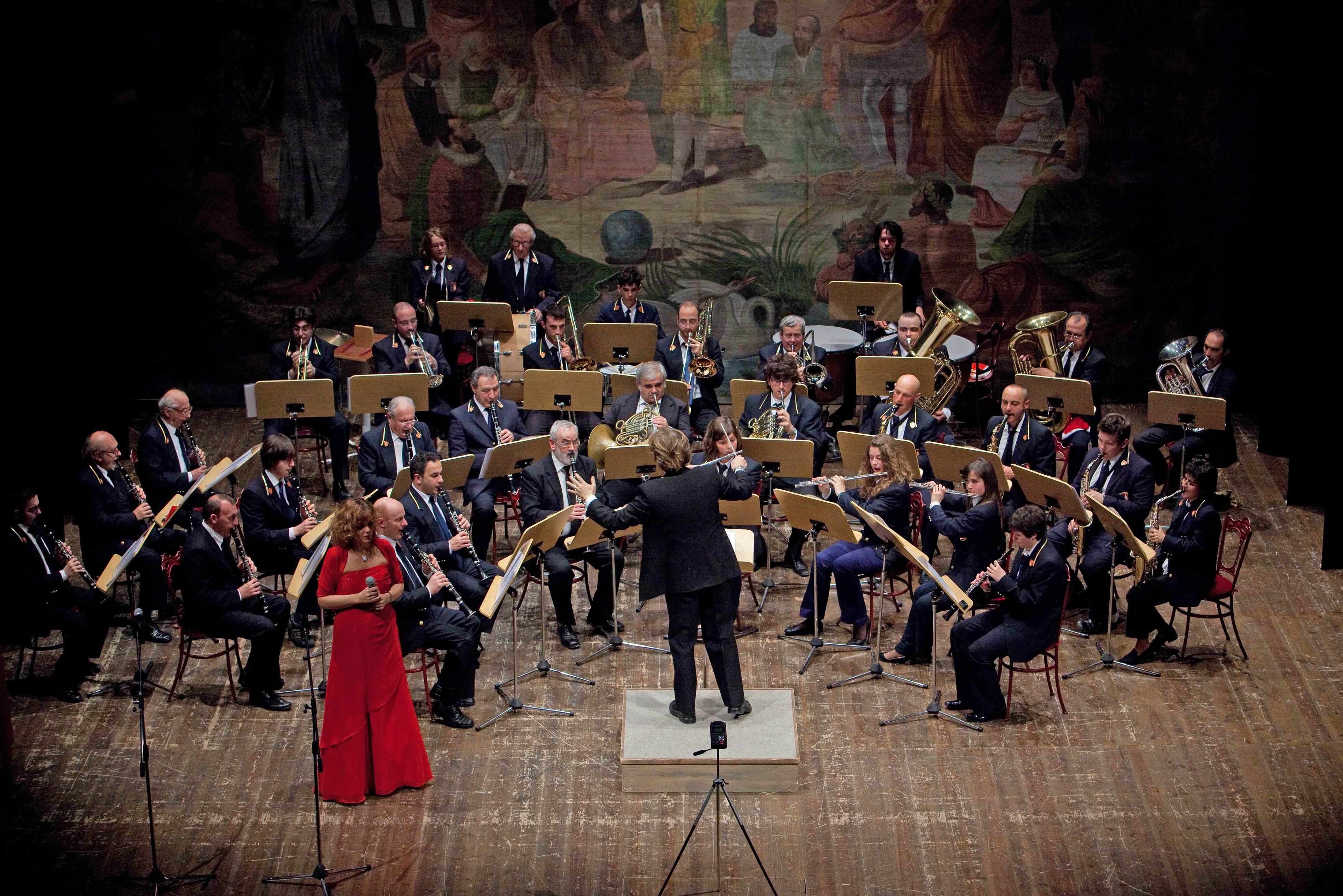 La banda della Cappella Musicale di Urbino