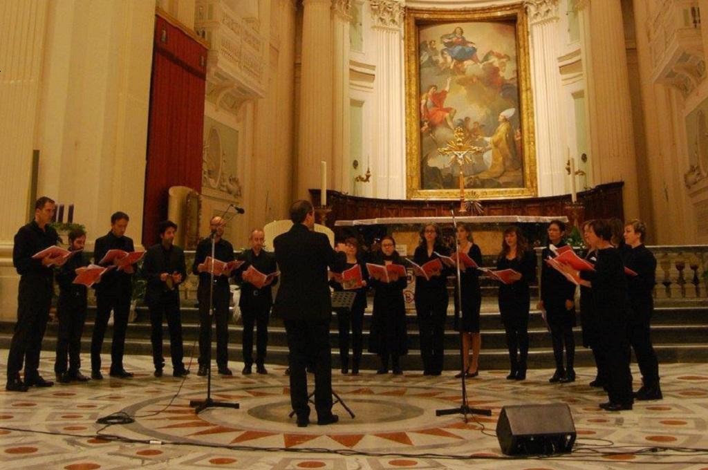 Il coro polifonico della Cappella Musicale di Urbino
