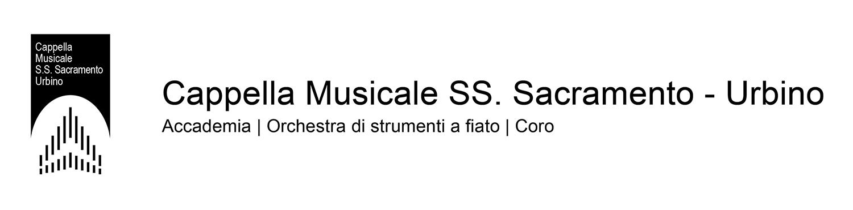 Cappella Musicale SS. Sacramento - Urbino