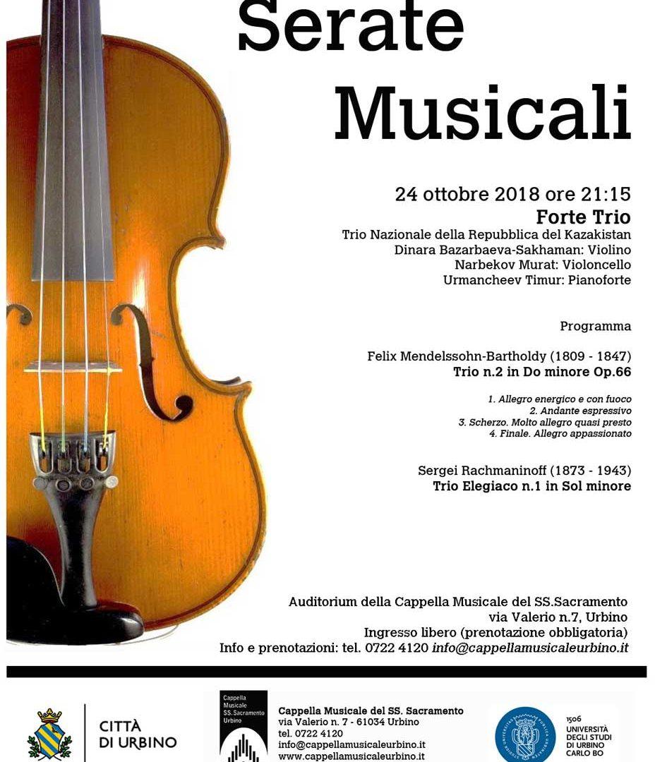 Serate Musicali 24 ottobre