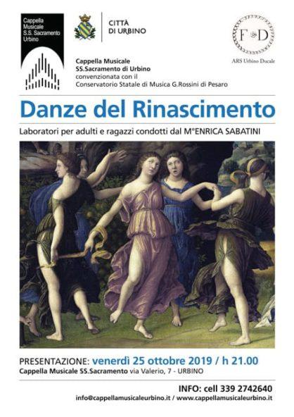 Presentazione Laboratori di Danze del Rinascimento